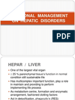 Nutritional Management on Hepatitis