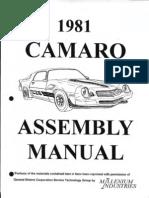 Chevrolet Camaro 1981 - Sam Naprawiam ENG