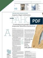 Antonio Gnoli Intervista Boris Pahor - La Repubblica - 05.05.2013