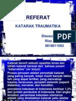REFERAT KATARAK TRAUMATIK