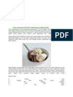 Cara Membuat Es Krim Sederhana Paling Enak