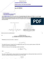 Mathematical Description of OFDM