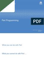 Perl – Training QA
