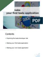 Bada Developer Guide