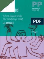 Les Barbanell Adio Vinovatie Cum Sa Scapi de Nevoia de a i Multumi Pe Ceilalti PDF