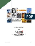 Company Profile - ALB Consultancy