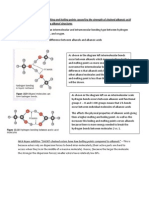 Explain the Difference in Melting and Boiling Points Caused by the Strength of Chained Alkanoic Acid and Straight Chained Primary Alkanol Structures