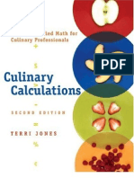 Culinary Calculations
