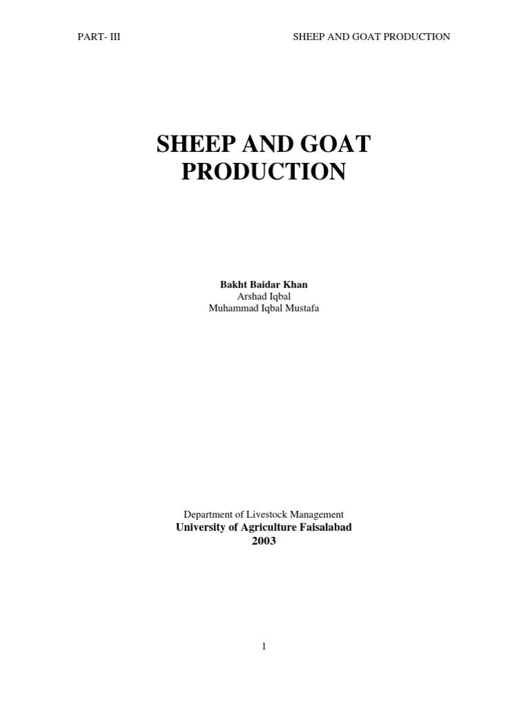 Sheep Goat 3 | Sheep | Injection (Medicine)