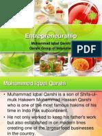 Entrepreneur (Muhammad Iqbal Qarshi)