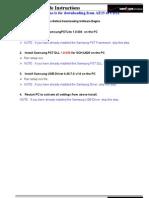 SCH-U620 Software Upgrade Instructions
