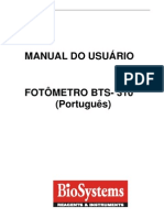 Manual Do Usurio BTS- 310