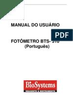 Manual Do Usurio BTS- 310
