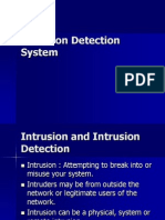 Intrusion Detection System PPT