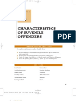 Chapter 3 Characteristics of Juvenile Offenders