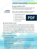PPDM Education Brochure 2012