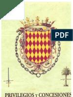 Privilegios y concesiones del término general del castillo de Nules en la época foral (1251-1709)