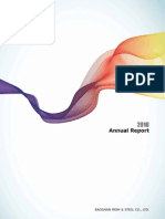 Annual Report 2010 Baosteel