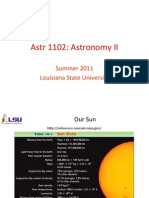 Astronomy lecture 2