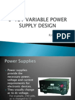 0-12v Variable Power Supply