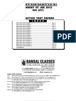 Practice Test Papers 1 to 14 E