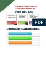 DISEÑO CURRICULAR NACIONAL DE EDUCACION BASICA REGULAR