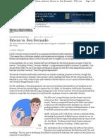 Bitcoin vs. Ben Bernanke