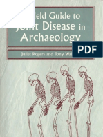 A Field Guide to Joint Disease in Archaelogy - J. Rogers and T. Waldron OCR Reduit
