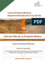 05.- Cierre de Faenas Mineras