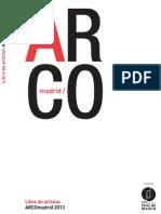 ARCO MADRID_libro de Artista