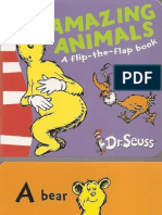 'Amazing Animals' - Dr. Seuss (Pocket Library)