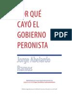 Porqué cayo el gobierno peronista-Jorge Abelardo Ramos