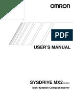 3G3MX2 User Manual I570-E1-01