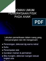 Pedoman Umum Pemeriksaan Fisik
