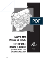 MP8 Suplemento Al Manual de Servicio