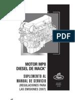 MP8 Suplemento Al Manual de Servicio