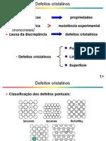 detfeitos cristalinos