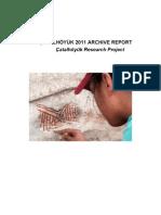 Çatalhöyük Archive Report 2011