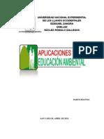APLICACIONES DE LA EDUCACIÓN AMBIENTAL (ROXANA)