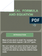 Mole and Particles ppt f4