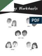 Feelings Worksheets