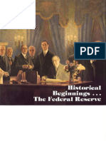 Beginning of the Fed