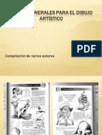 Pautas generales para el dibujo artístico
