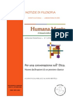 Humana_Mente 07 Per Una Conversazione Sull'Etica