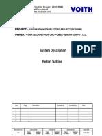Alak Description Pelton Turbine