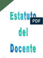 Estatuto Del Docente