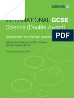 UG030052 International GCSE in Science Master Booklet Spec Issue 4 SAMs for Web 280212