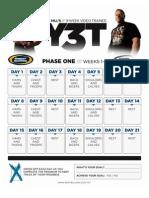 y3t Print Calendar