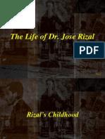 Rizal Course Life of Jose P Rizal
