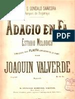 Adagio Para Flauta y Piano Joaquin Valverde